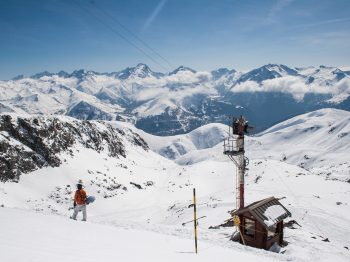 Freeride routes in Alpe d'Huez